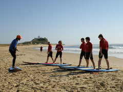 Group Surf Lesson Newcastl