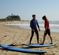 Private Surf Lesson Newcastle