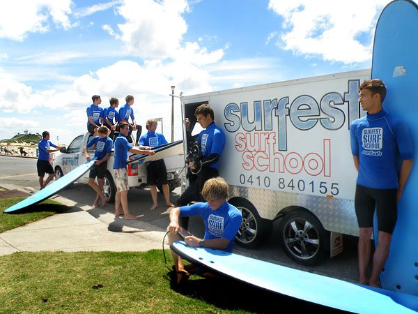 Learn to surf in Newcastle with the professional coaching staff from Sanbah at Newcastle Surfest Surf School. We're a licensed Surfing Australia surf school offering SurfGroms, group, private, school sport and corporate surfing lessons.