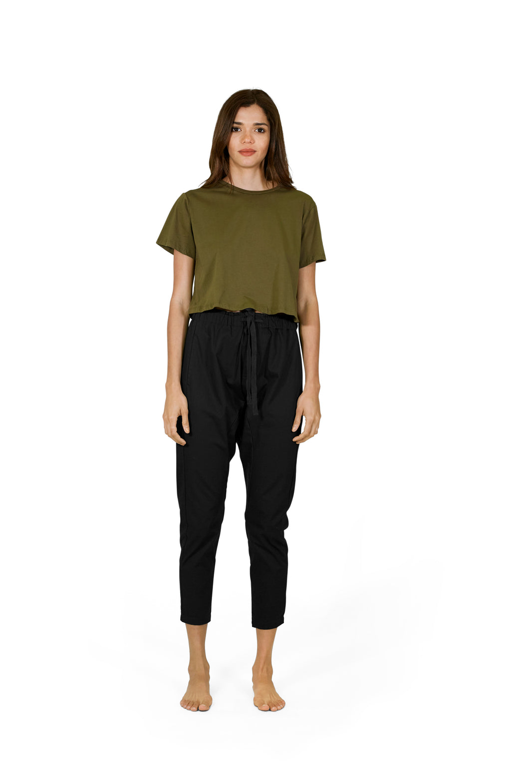 SanBasic Crop Tee