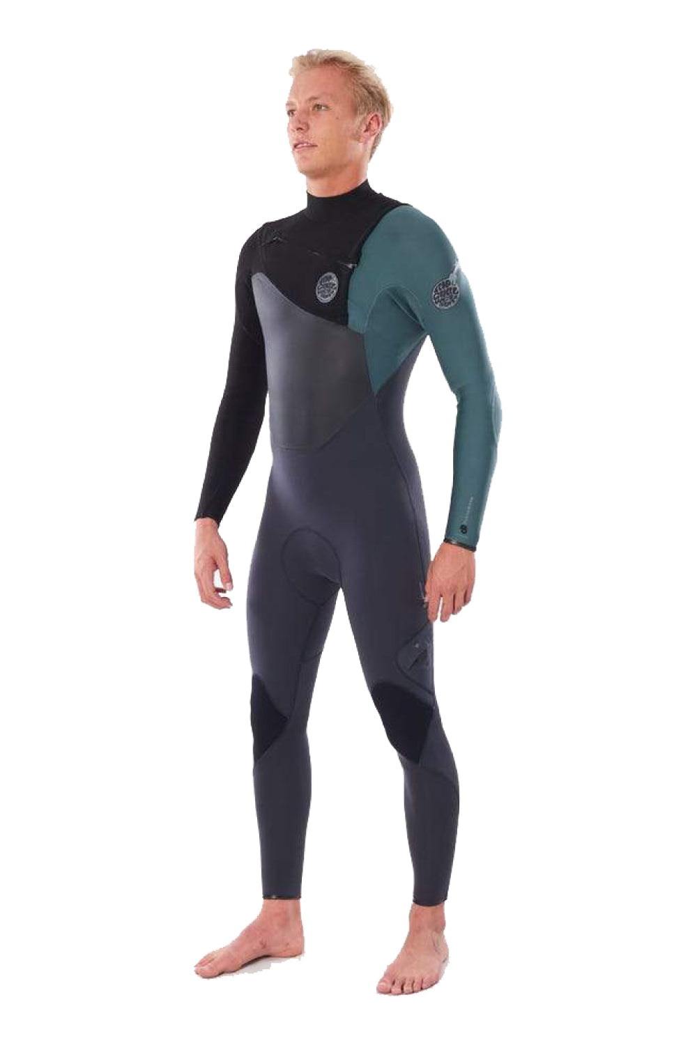 Rip Curl Men's Flashbomb 3/2mm Chest Zip Wetsuit Steamer
