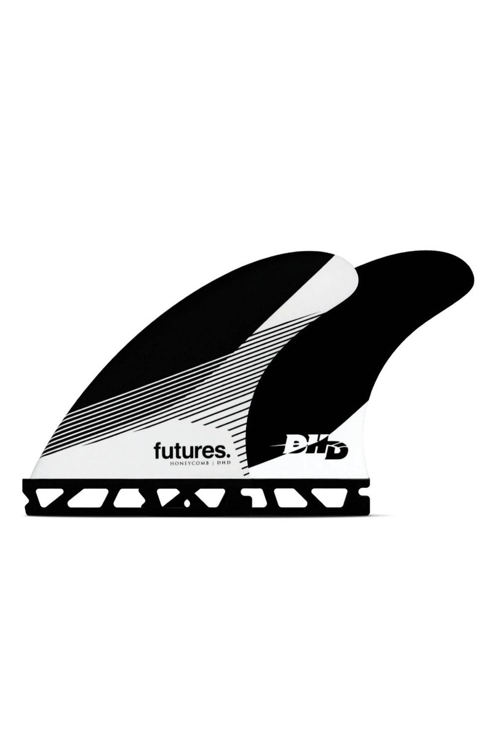 Futures DHD-HC-Thruster-Set - Black / White - Medium