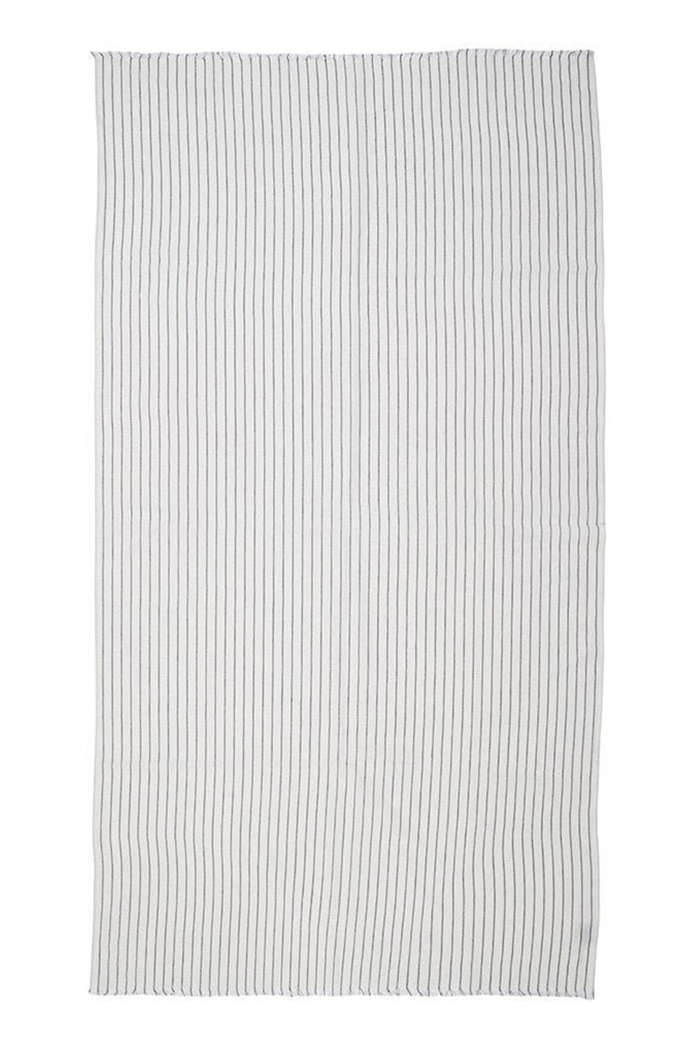 Mayde Balmain Towel - White / Black