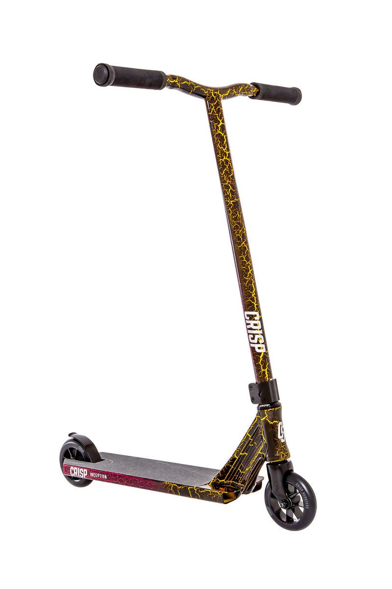 Crisp Inception Gold / Pink Lava Scooter