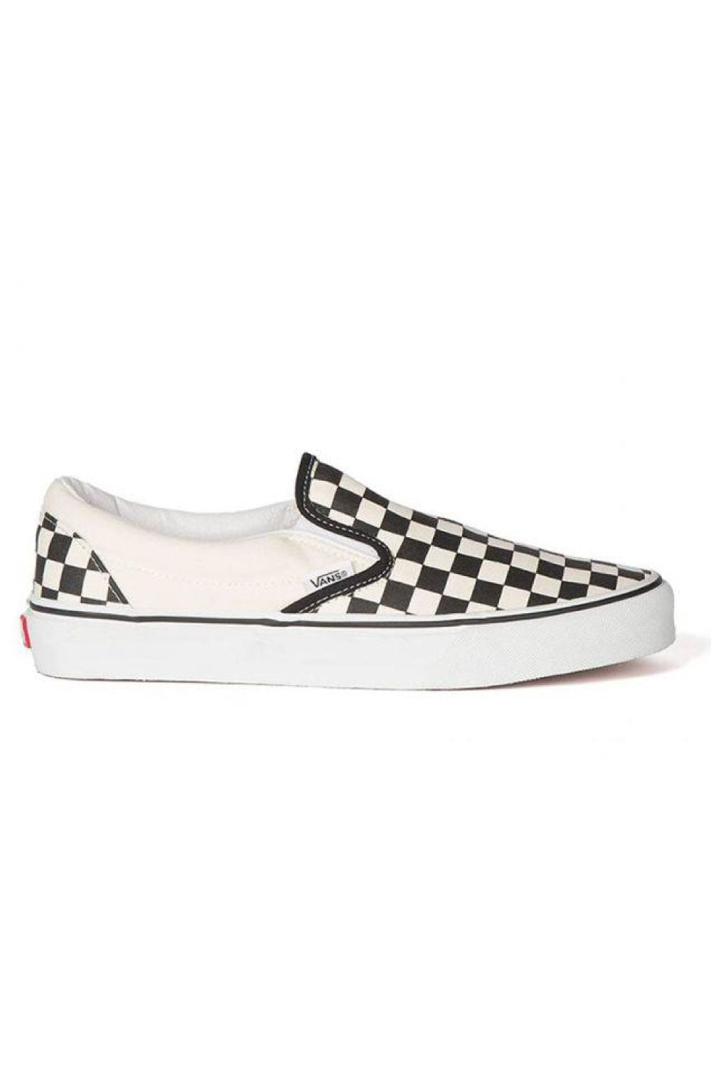 CHECKERBOARD BLACK/OFF WHITE