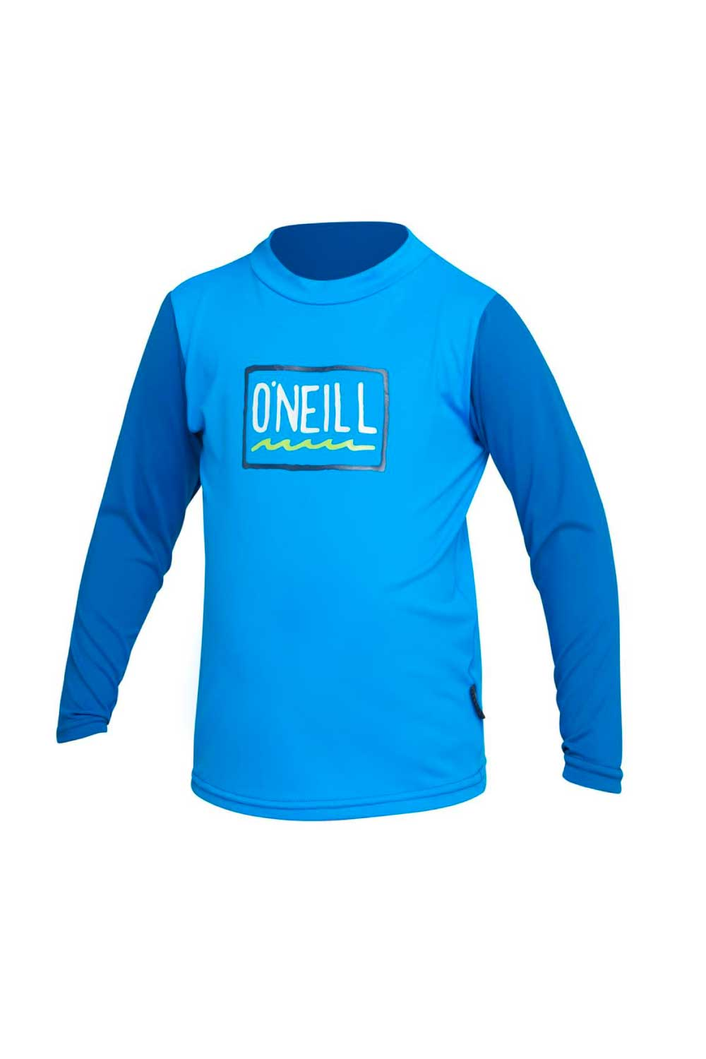 O'Neill Toddler Skins Long Sleeve Rash Vest - Brite Blue