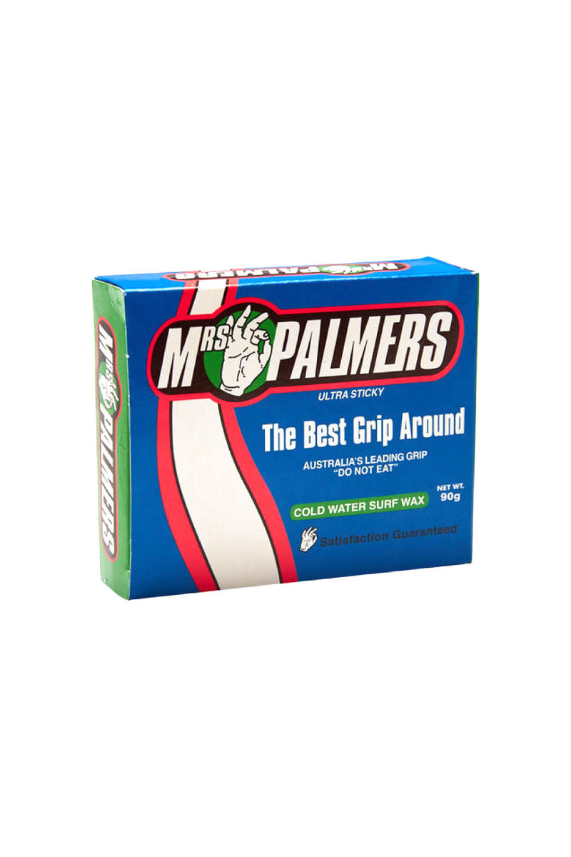 Cold Water Mrs Palmers Wax | Buy Surfing Wax Online Australia