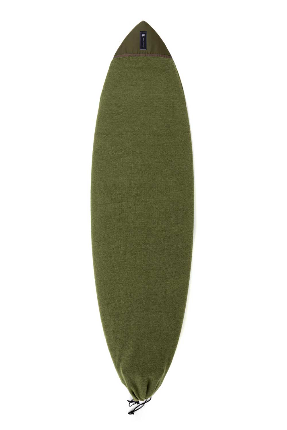 Creatures of Leisure Fish Icon Surfboard Sock (Sox) Military Green Cover
