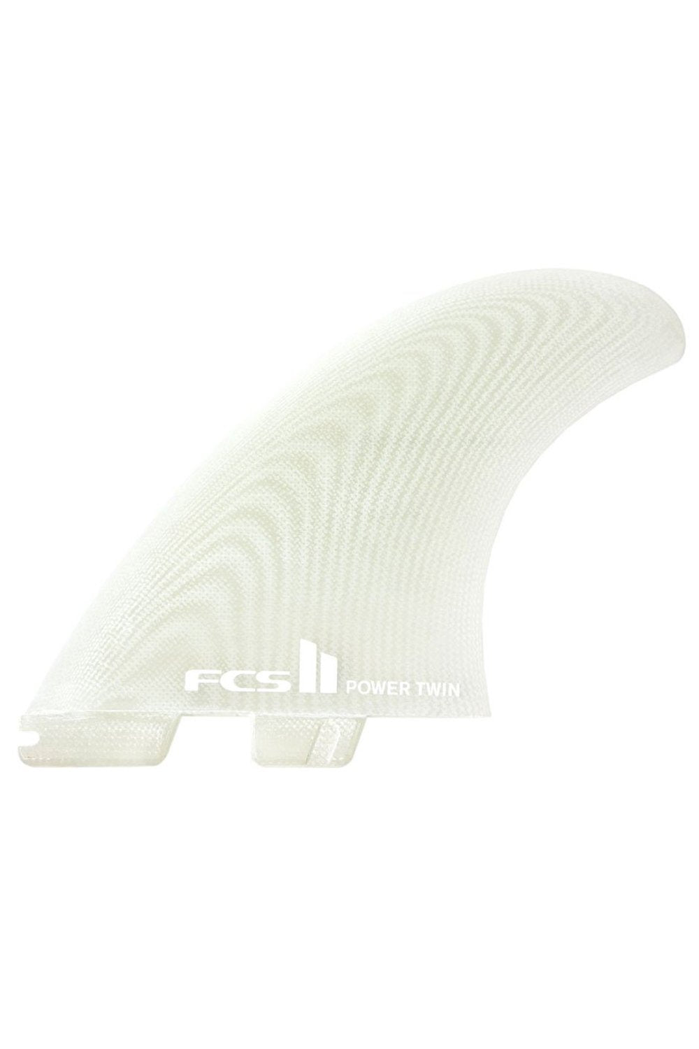 FCS2 Power Twin +1 PG Surfboard Fin Set