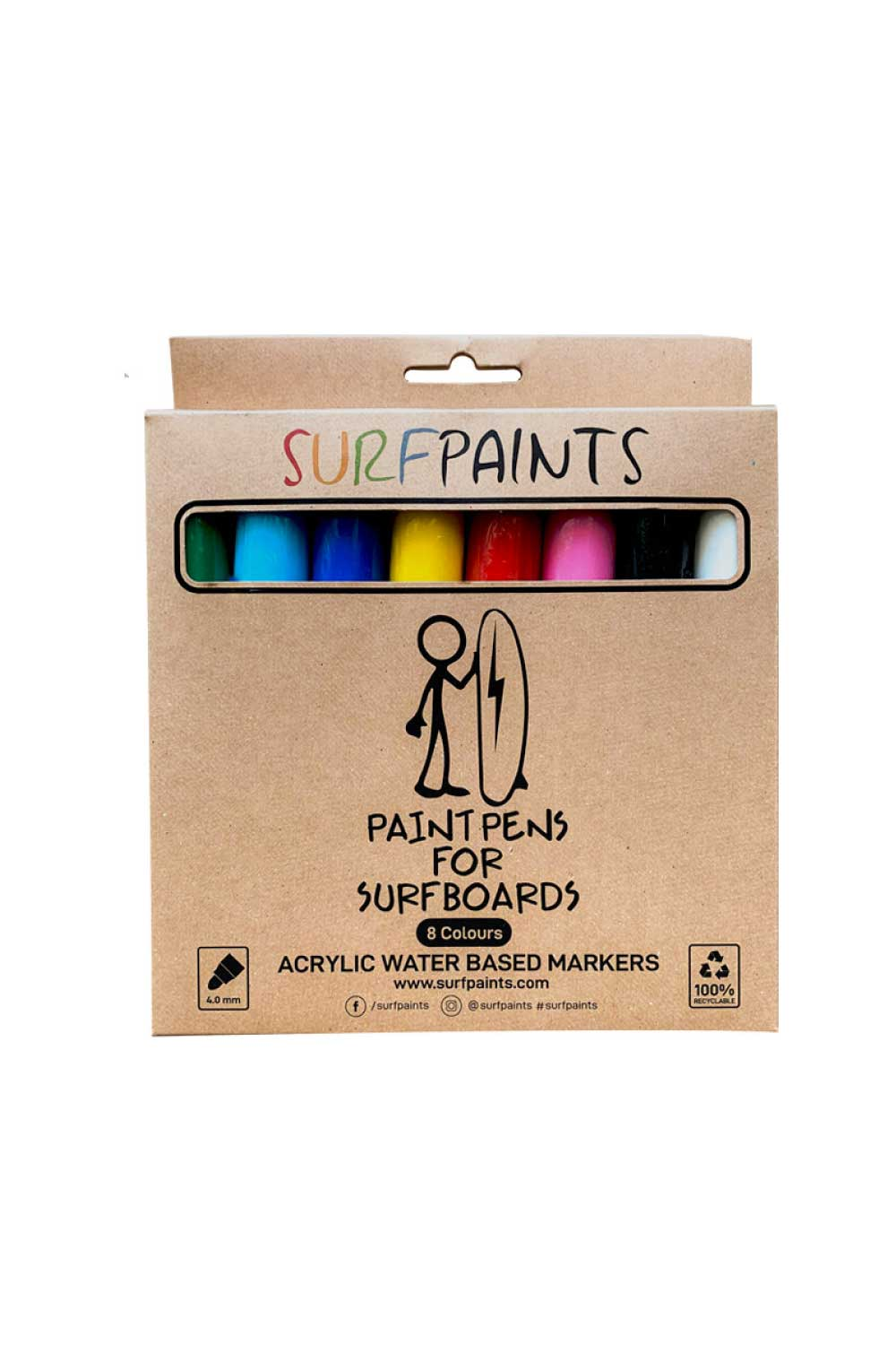 Surf Paints Premium 8 Pack
