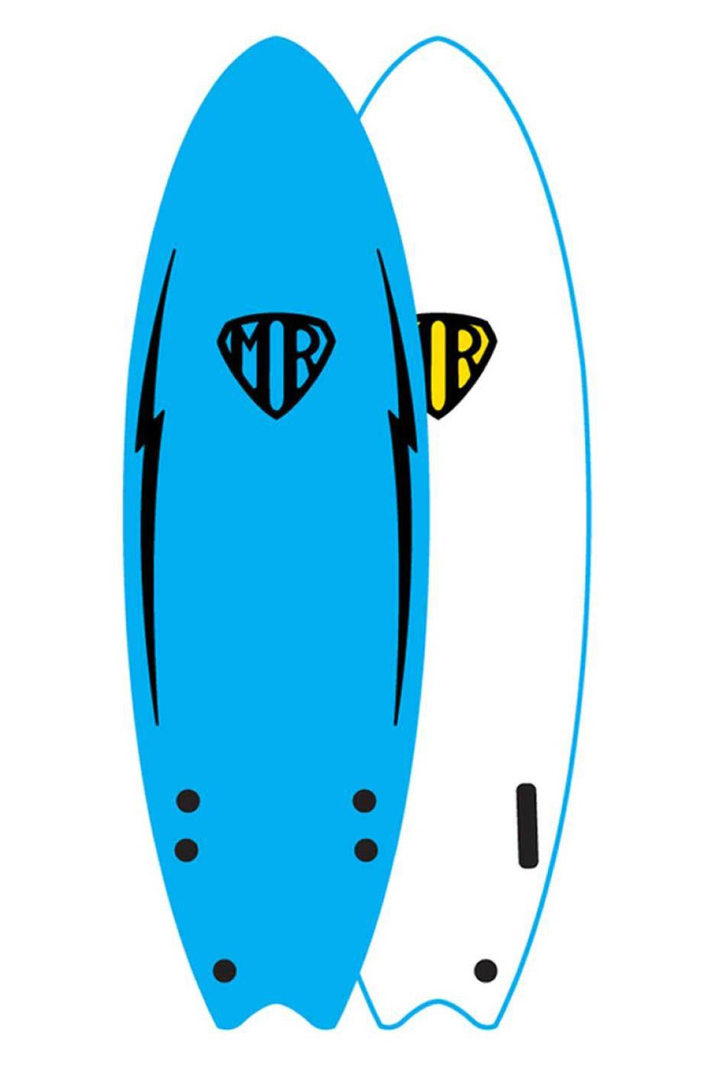 Mark Richards MR 5'6ft Ezi Rider Twin Fin Softboard