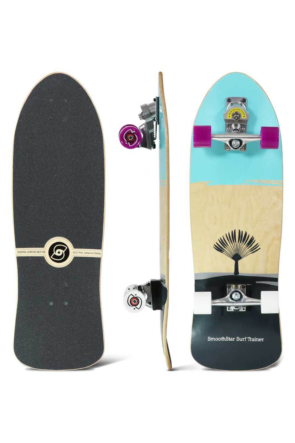 "Smoothstar 32.5"" Johanne Defay Pro Model Skateboard"