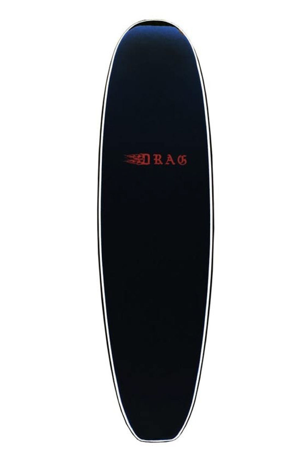 8ft Drag Board Co Coffin Finless Softboard