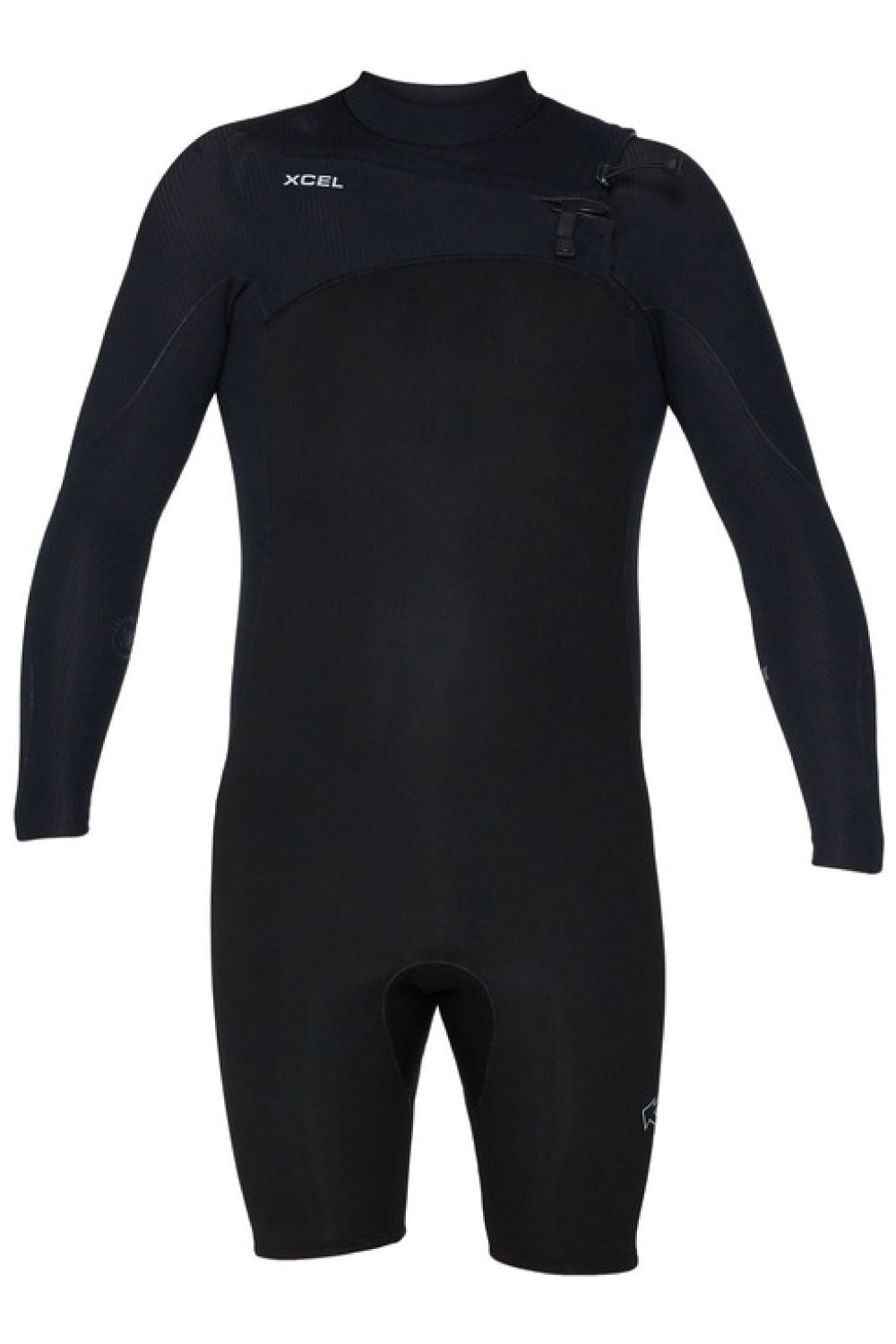 XCEL 2mm COMP X Long Sleeve Spring Suit - Black