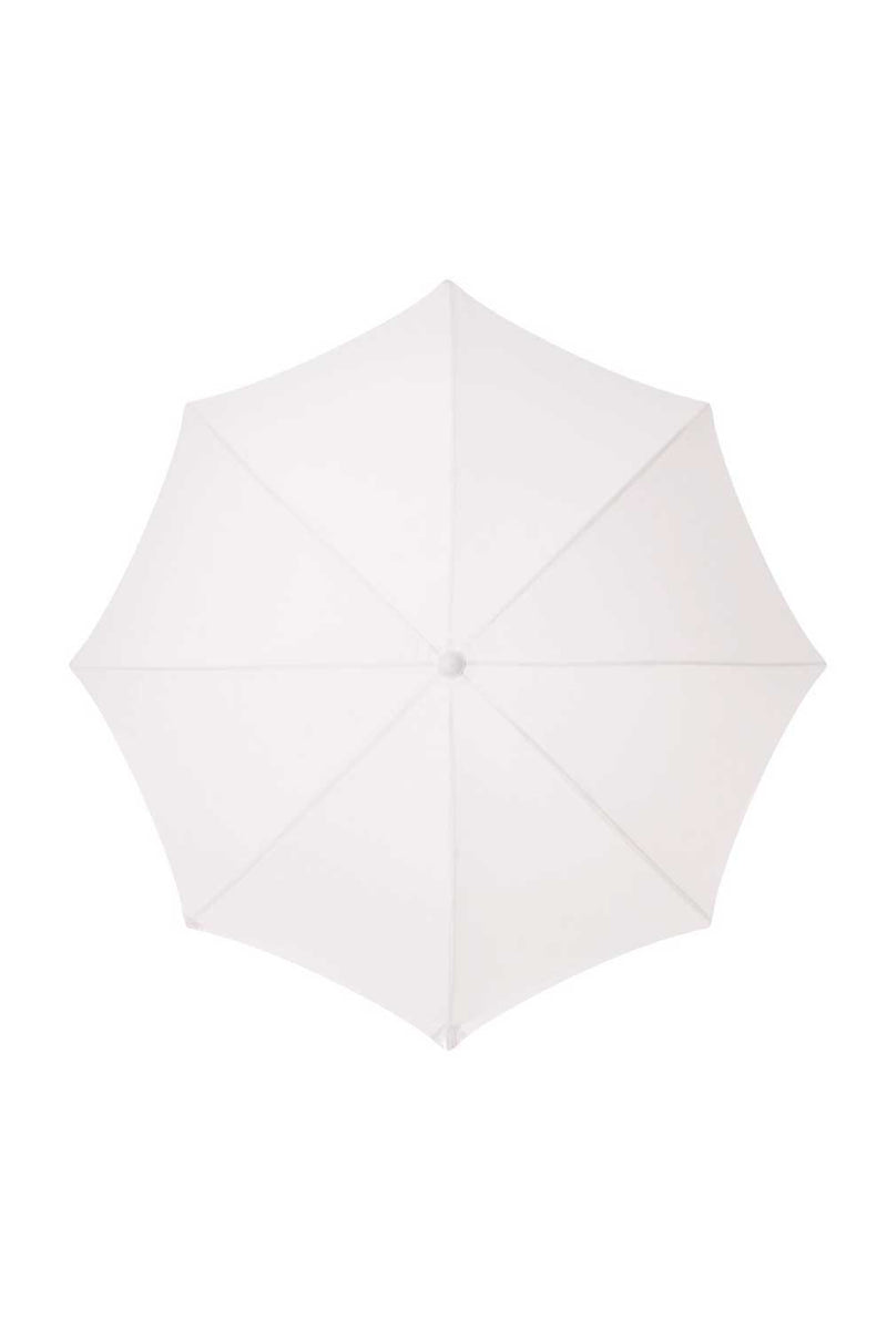 Business & Pleasure Co Holiday Beach Umbrella Antique White