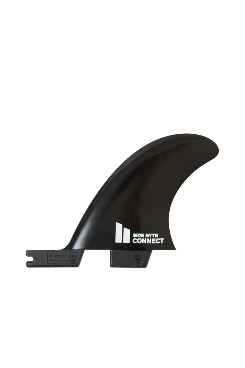 FCS 2 Connect Black Quad Rear Side Byte Surfboard Fins