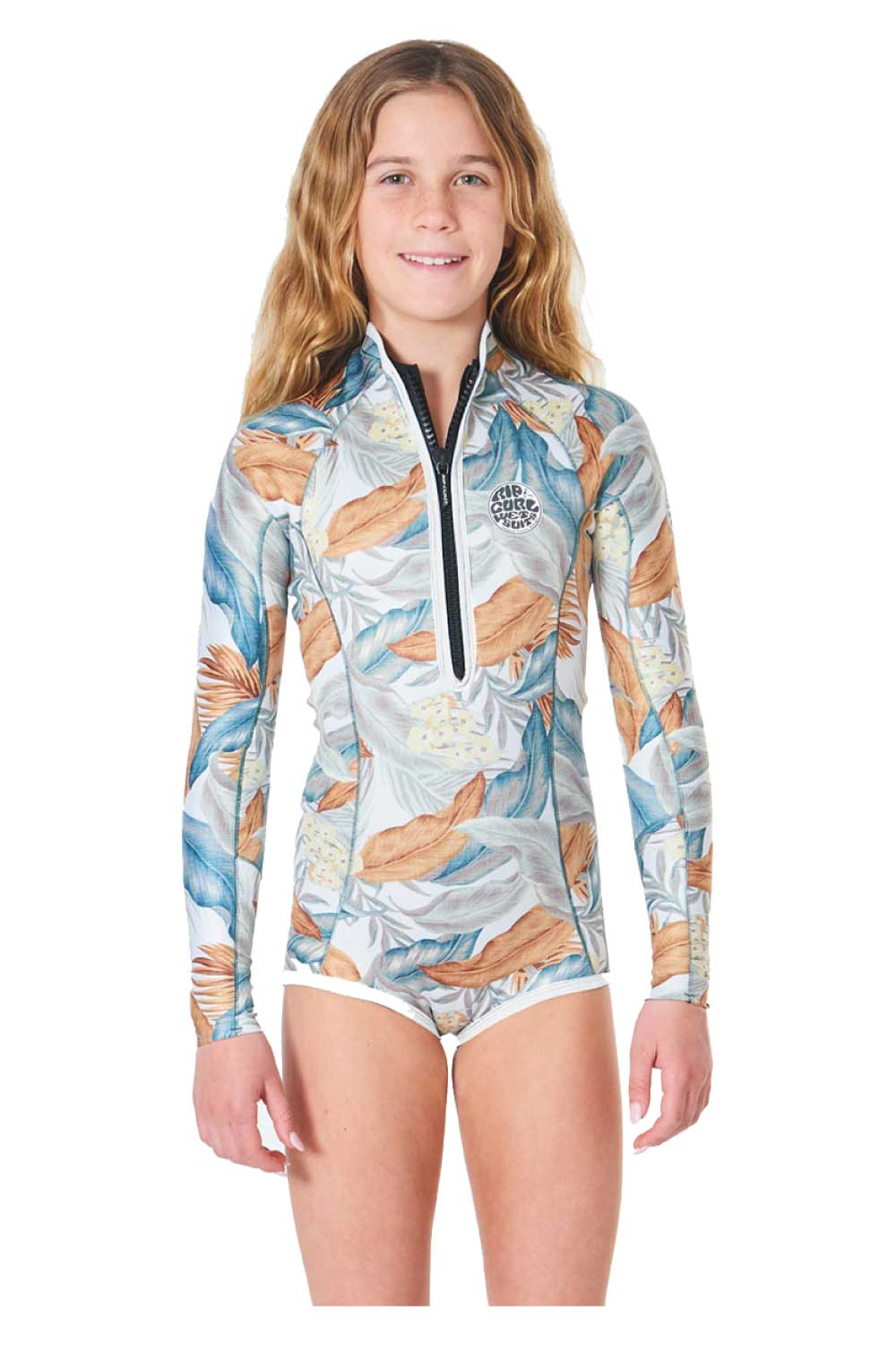 Rip Curl Junior G-Bomb Long Sleeve 1mm Spring Suit Girls (8 - 16 years)