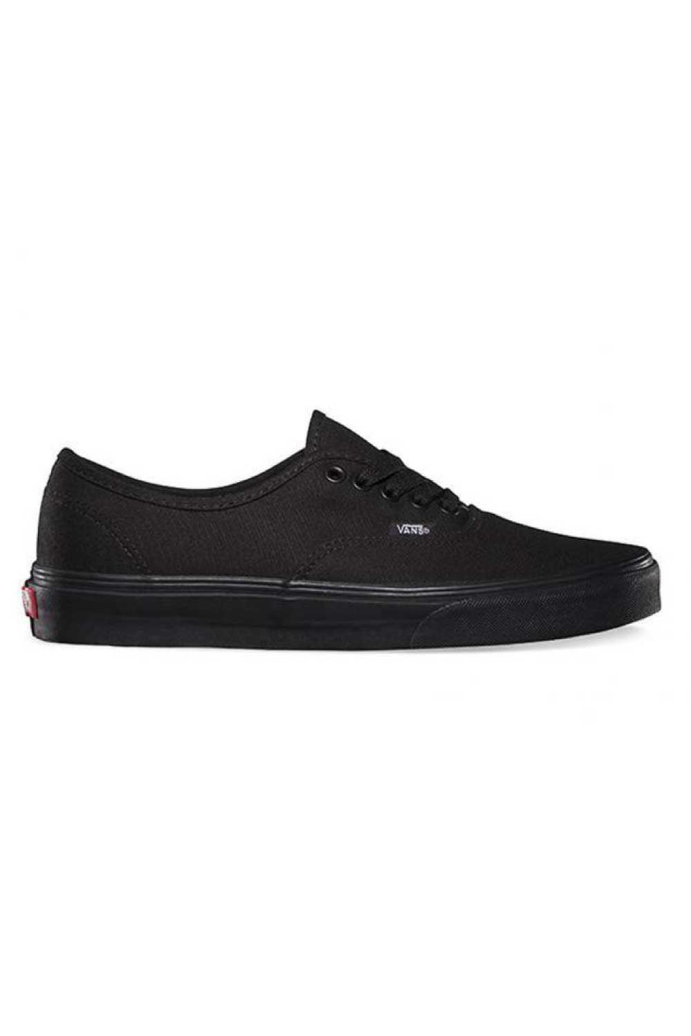 Vans Authentic Black Skate Shoe