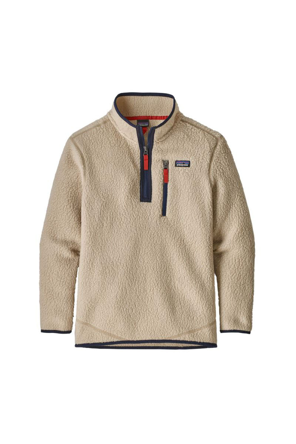 Patagonia Boy's Retro Pile 1/4 Zip Jumper