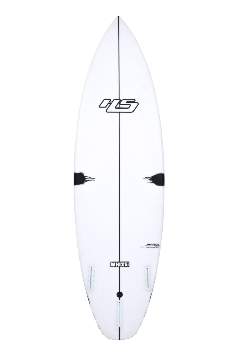 Hayden Shapes HS White NoiZ V2 Surfboard by Craig Anderson