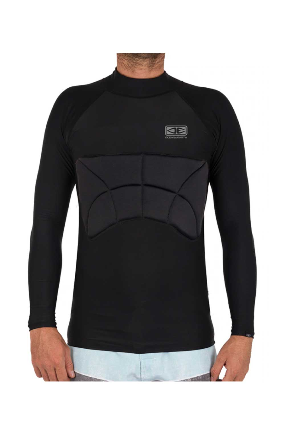 Ocean & Earth Rib Guard Padded Long Sleeve Surfing Vest