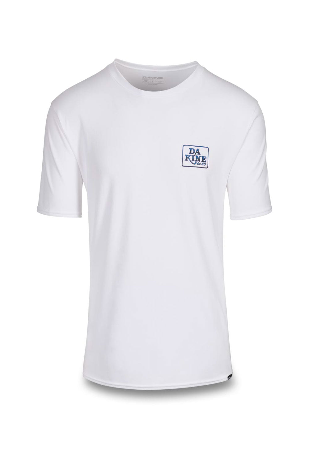 Dakine Inlet Loose Fit Short Sleeve Rashshirt White