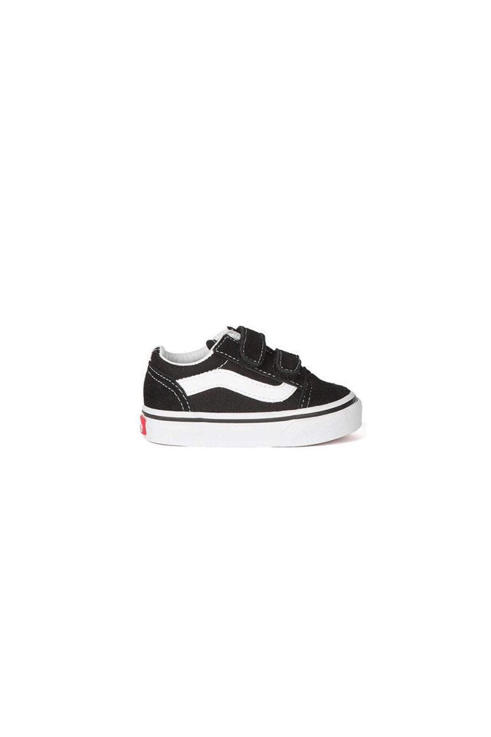 Vans Old Skool V Toddler Black / True White Shoe