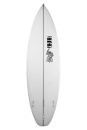 Stacey Black Reaper Surfboard