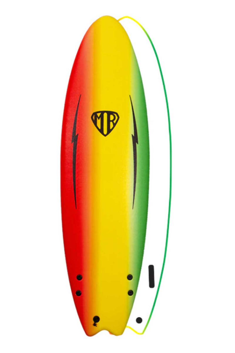 Ocean & Earth Mark Richards MR Ezi-Rider Twin Fin 6'6 Softboard