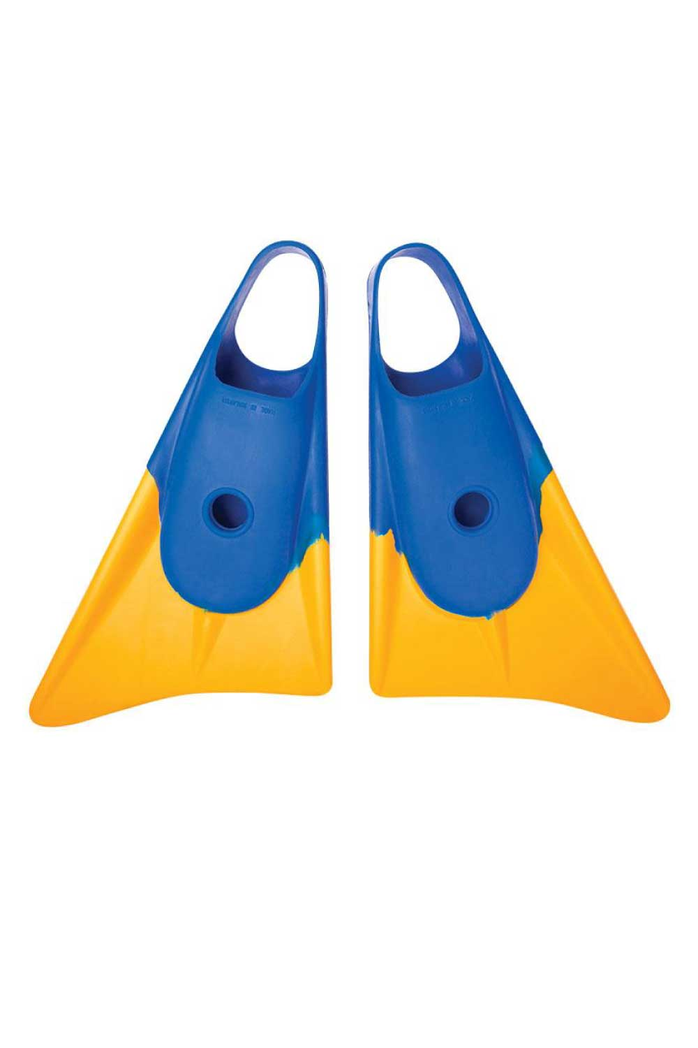 Limited Edition Bodyboard Fins Blue/Gold