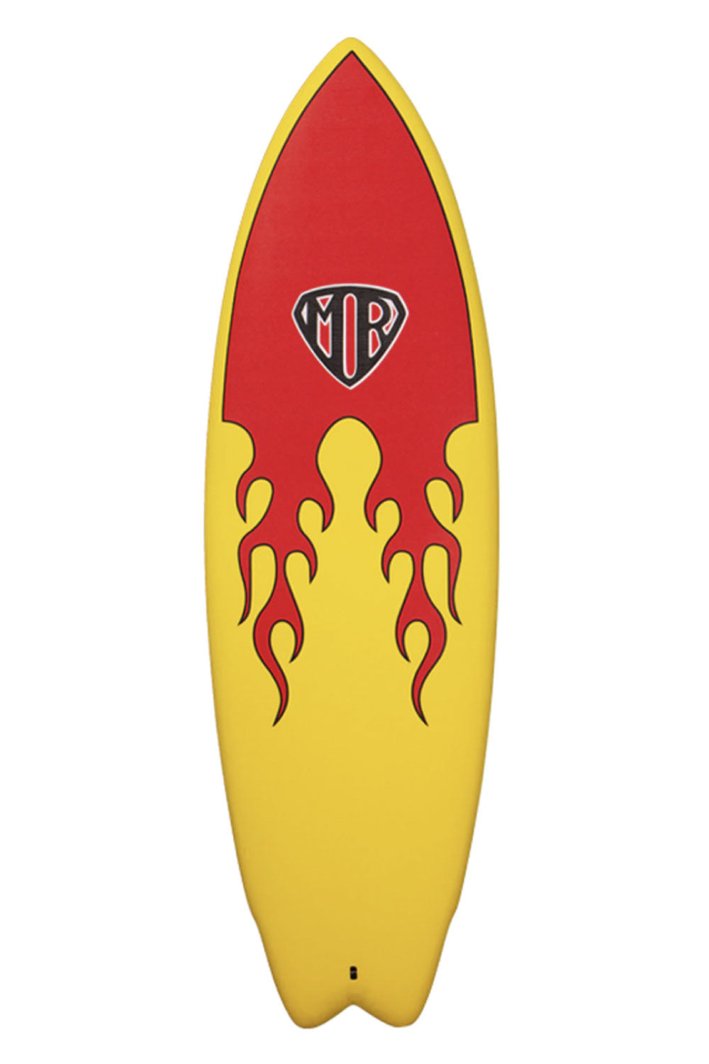 Mark Richards MR Flame Epoxy Super Twin Fin Softboard