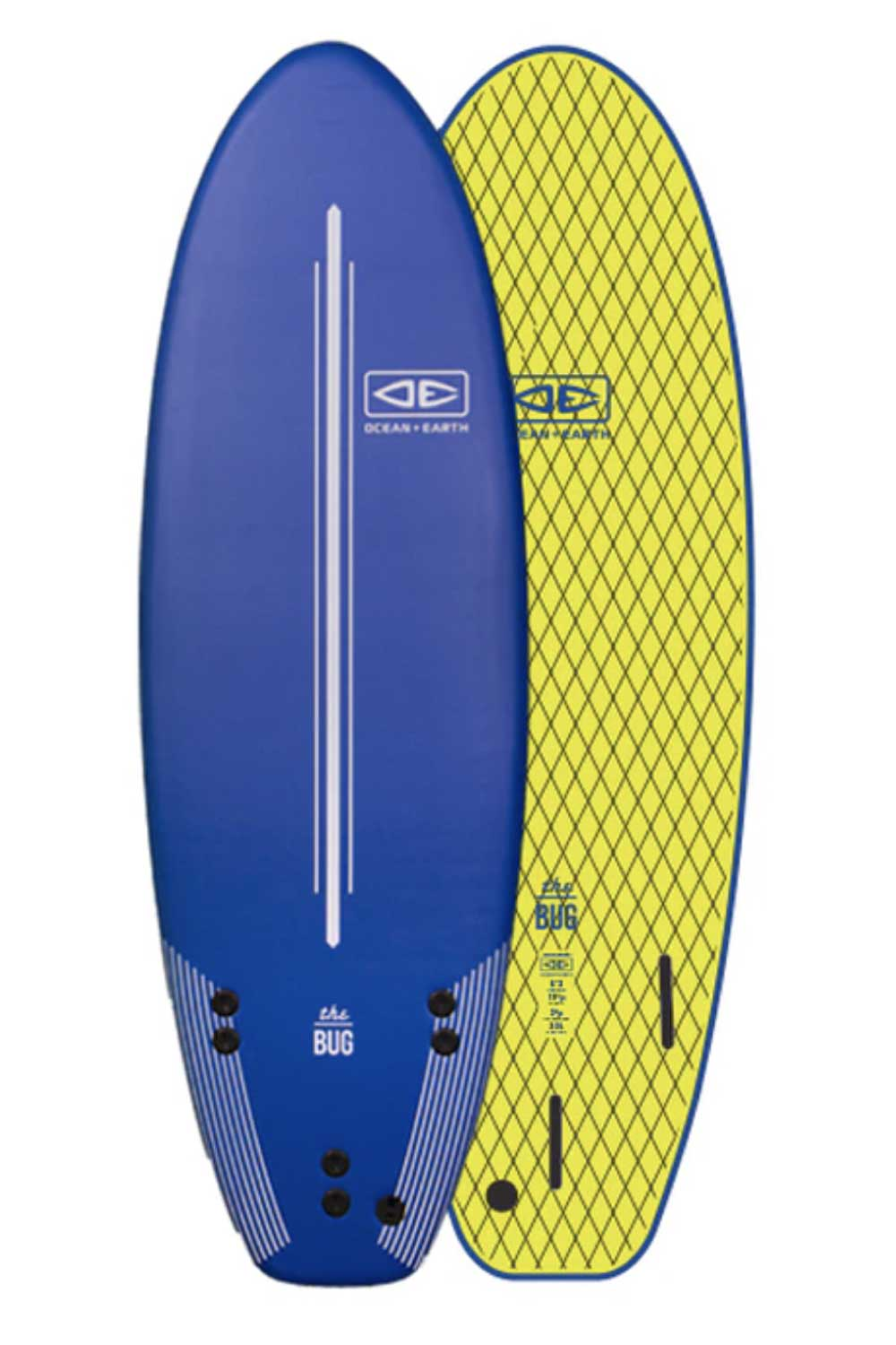 Ocean & Earth BUG Softboard 5'2""