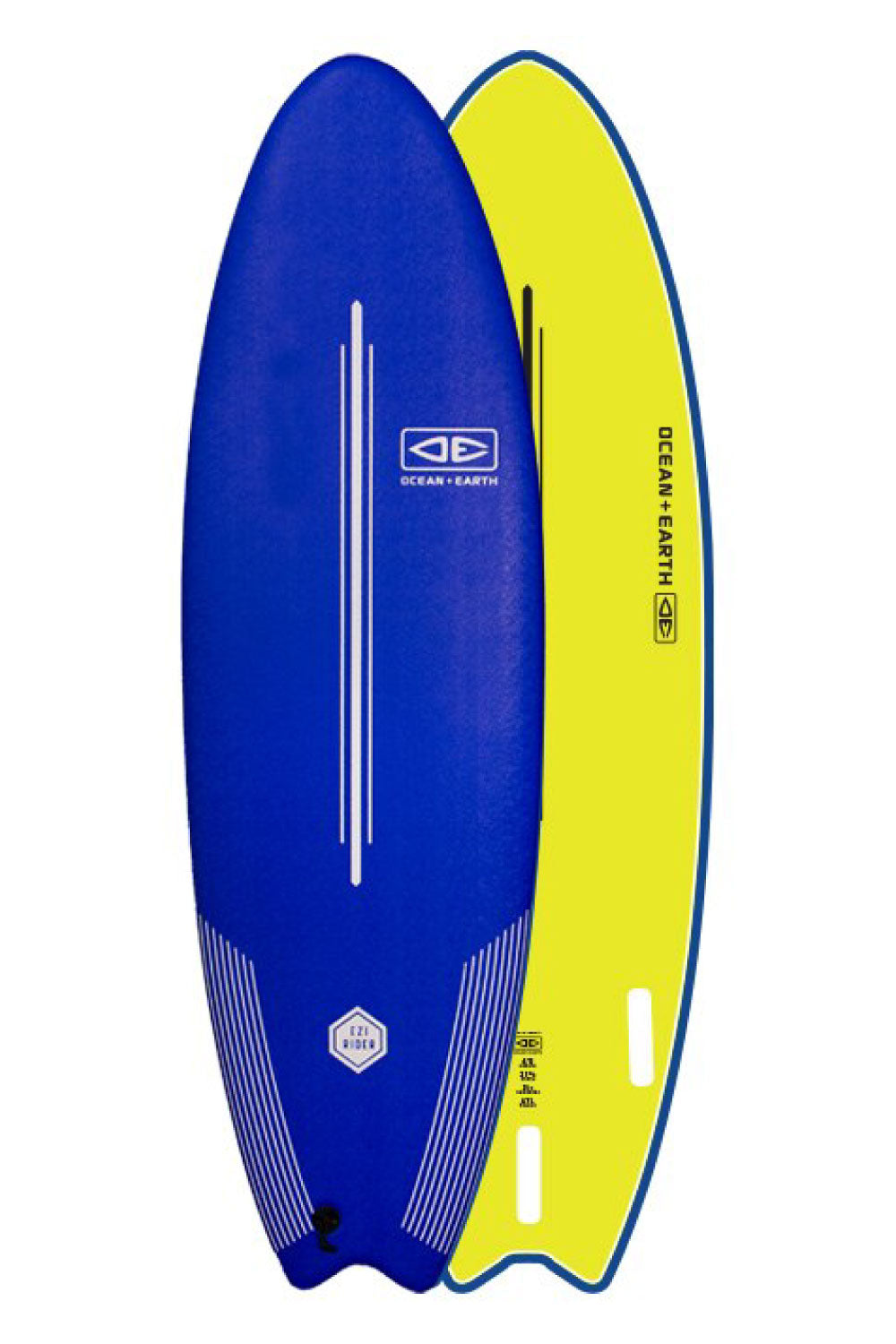 6ft Ocean & Earth Ezi-Rider Navy Softboard