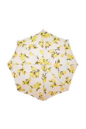 Business & Pleasure Co Holiday Beach Umbrella Vintage Lemons