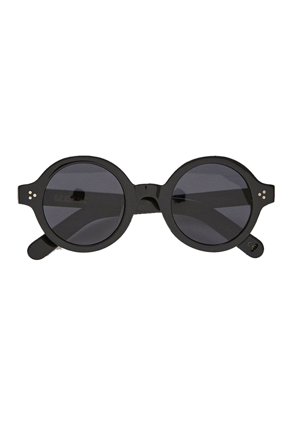 Epokhe Ollo Black Polished Sunglasses