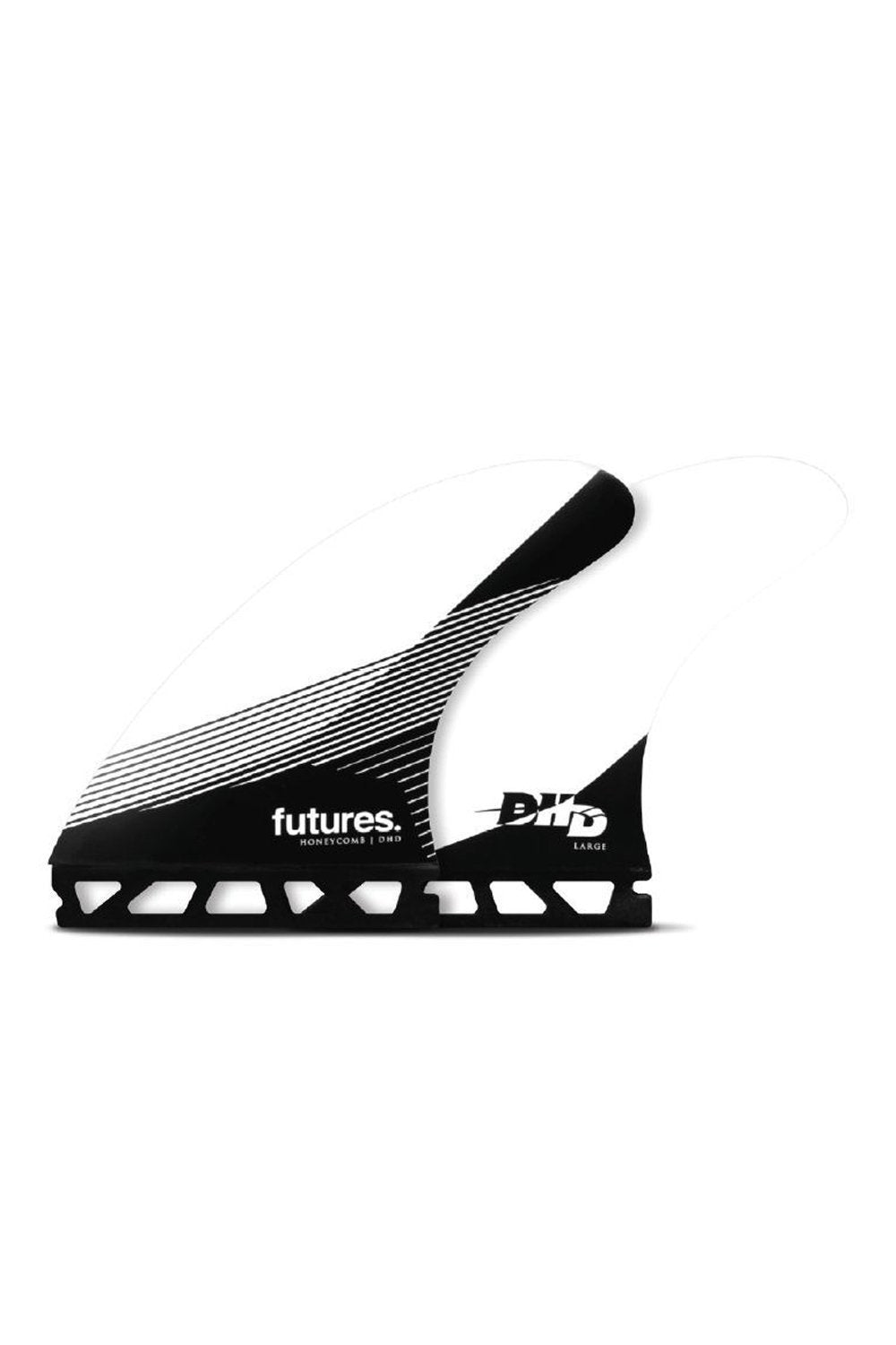 Futures DHD-HC-THRUSTER-SET - Black / White - Large