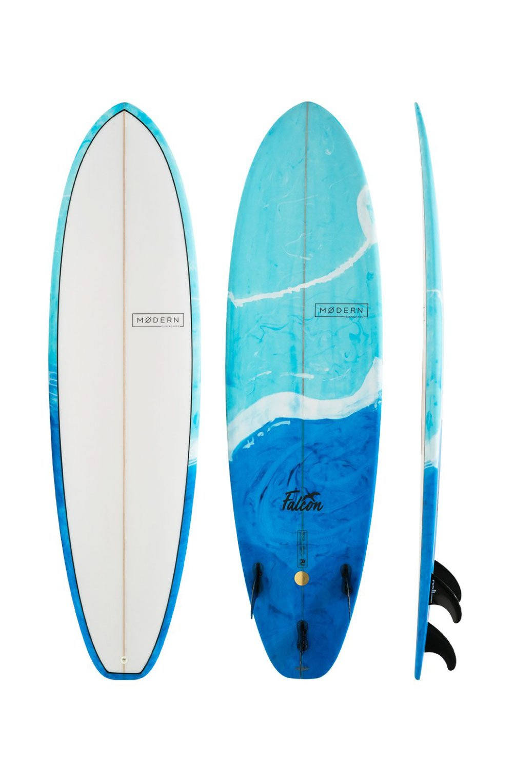 Modern Falcon PU Fish Surfboard
