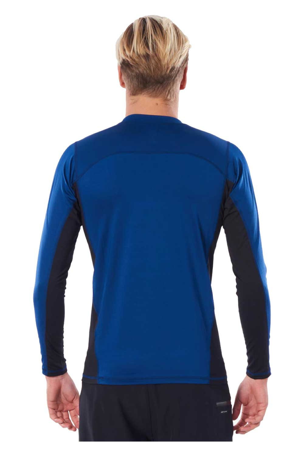Rip Curl Mens Drive Relaxed Long Sleeve UV Tee Rash Vest