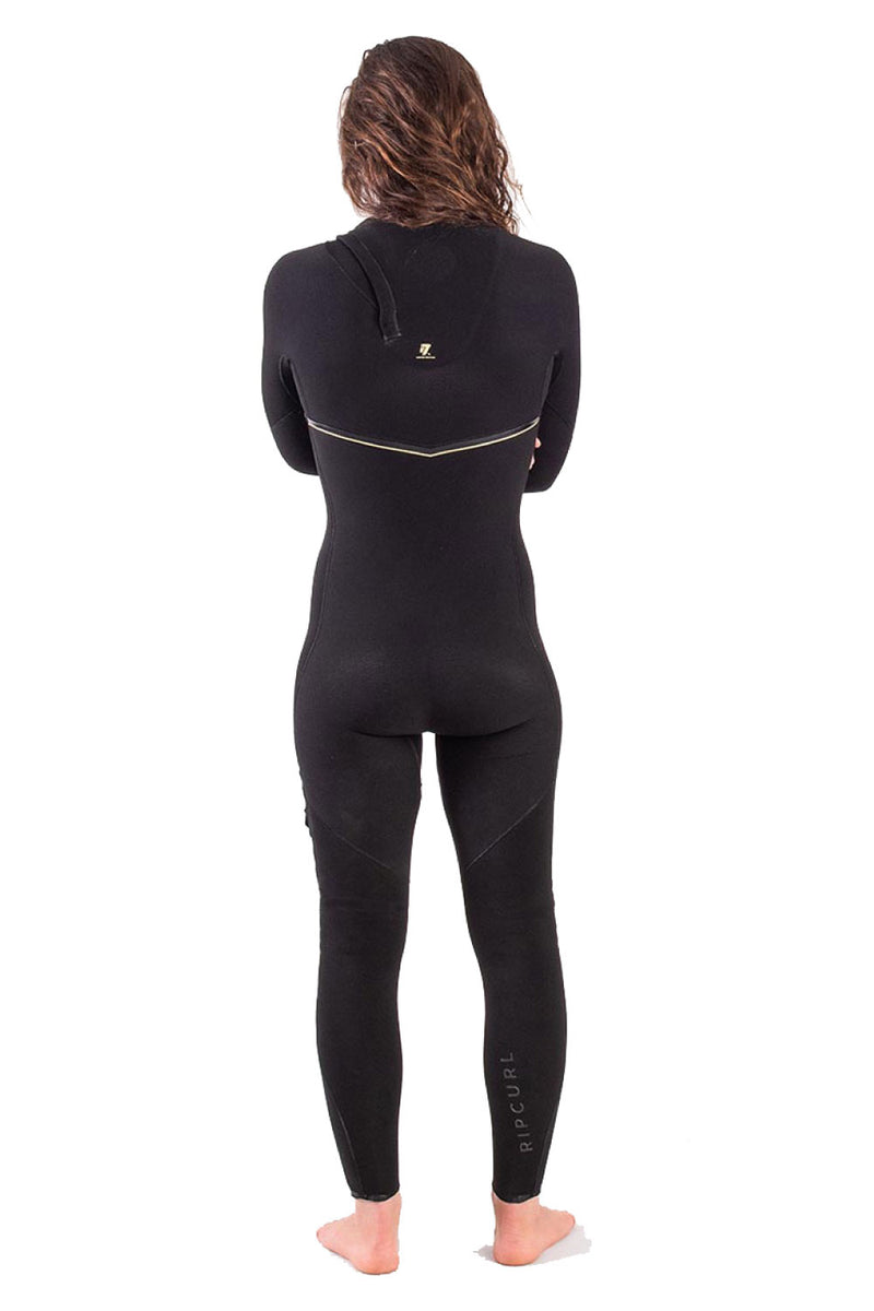 Rip Curl Women's LTD E7 E-Bomb 3/2mm Zip Free Wetsuit Steamer