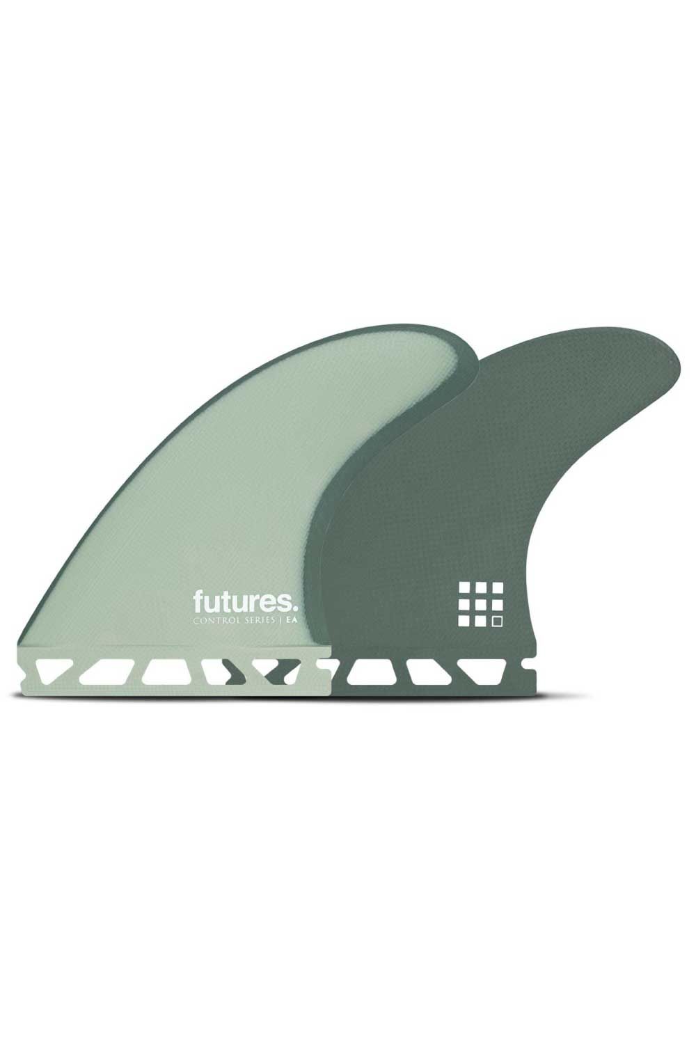 Futures Finds EA Control Series Fibreglass Thruster Set