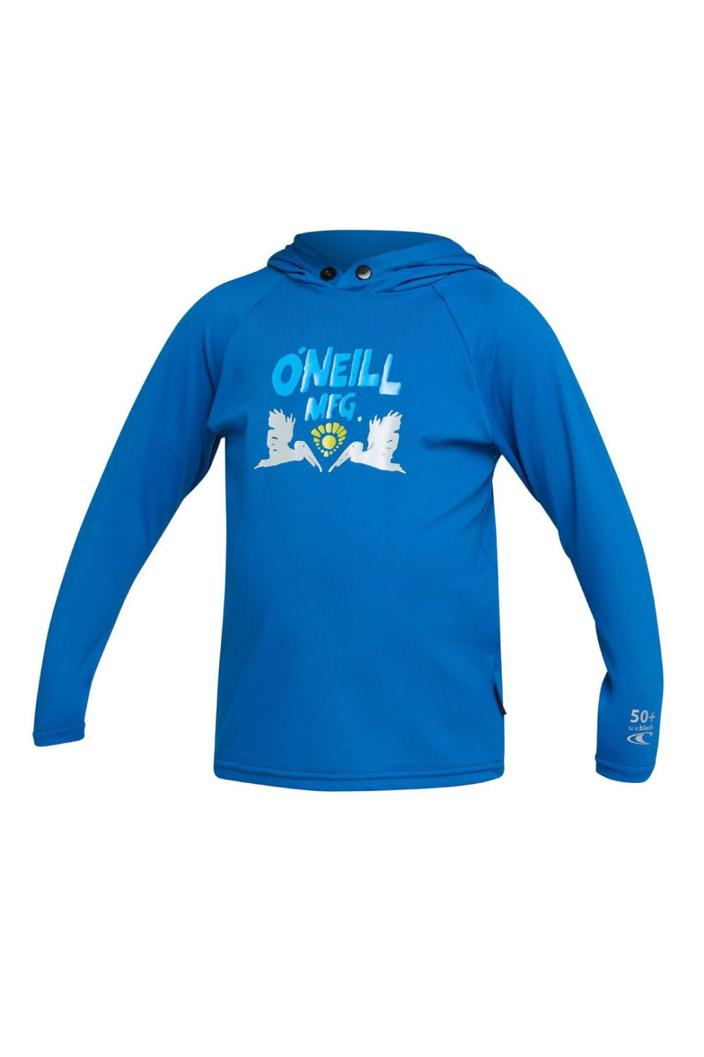 O'Neill Toddler Skins Hoodie Rash Vest - Ultra Blue
