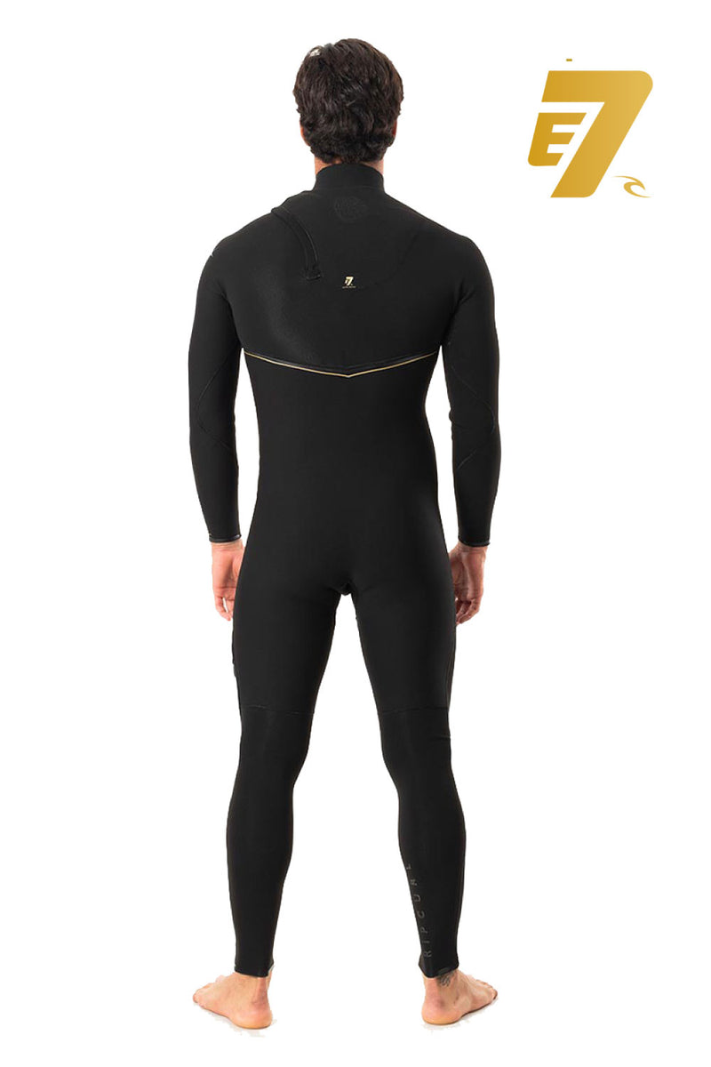 Rip Curl Men's LTD E7 E-Bomb 3/2mm Zip Free Wetsuit Steamer