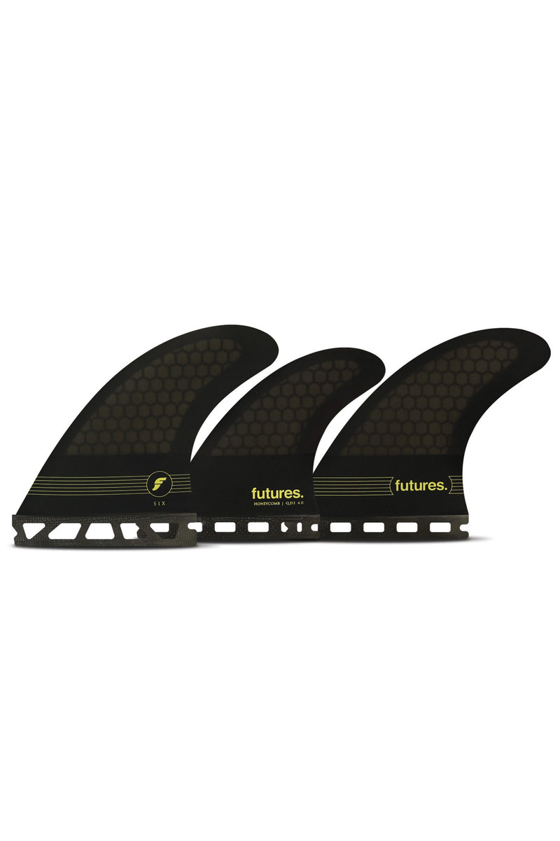 Futures F6 5 Fin Tri Quad Set