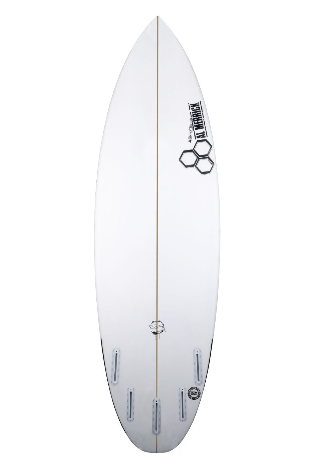 Channel Islands Neck Beard 3 Surfboard Round Tail