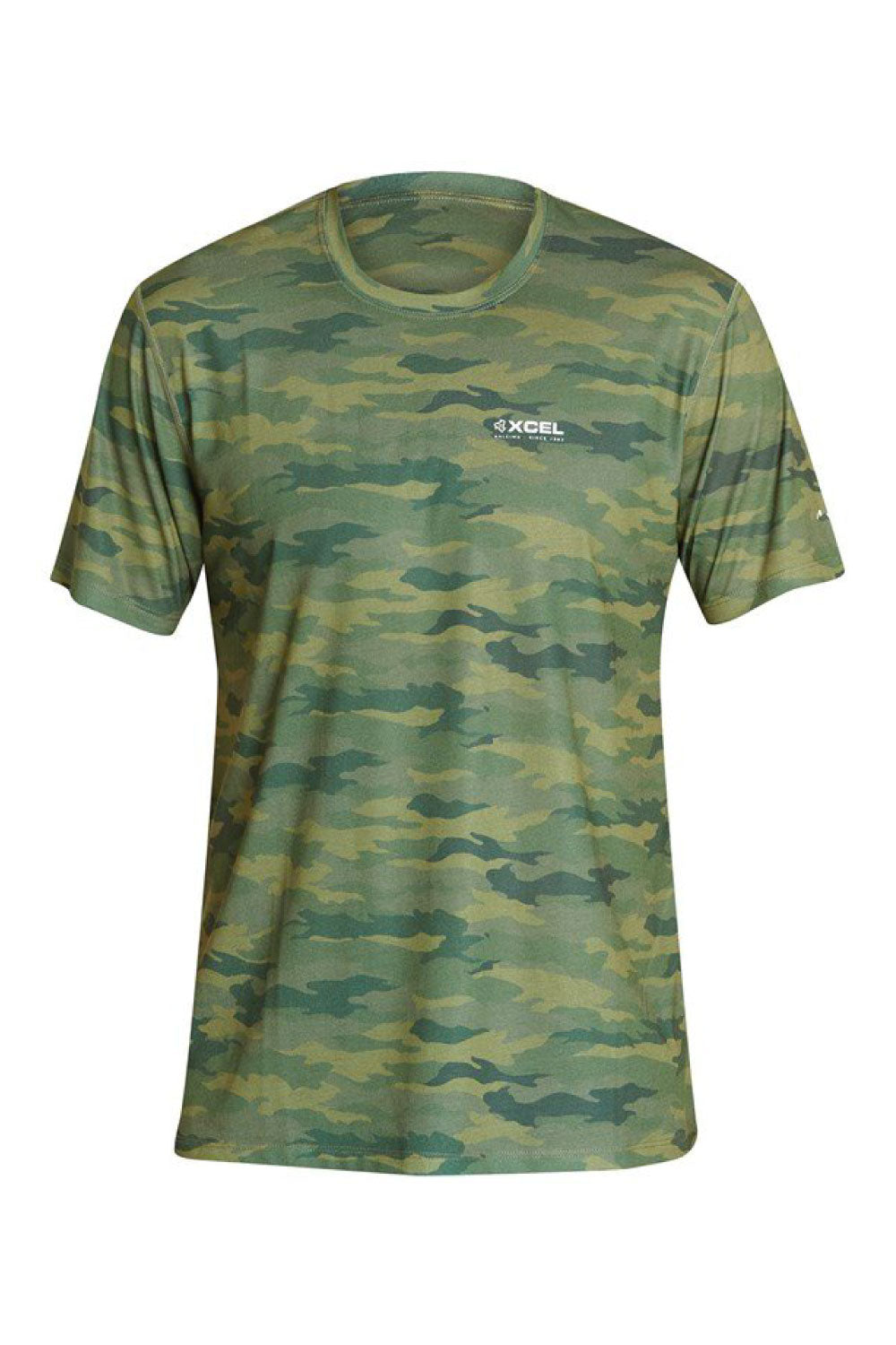 Xcel ThreadX Hawaiian Camo Short Sleeve Rashshirt