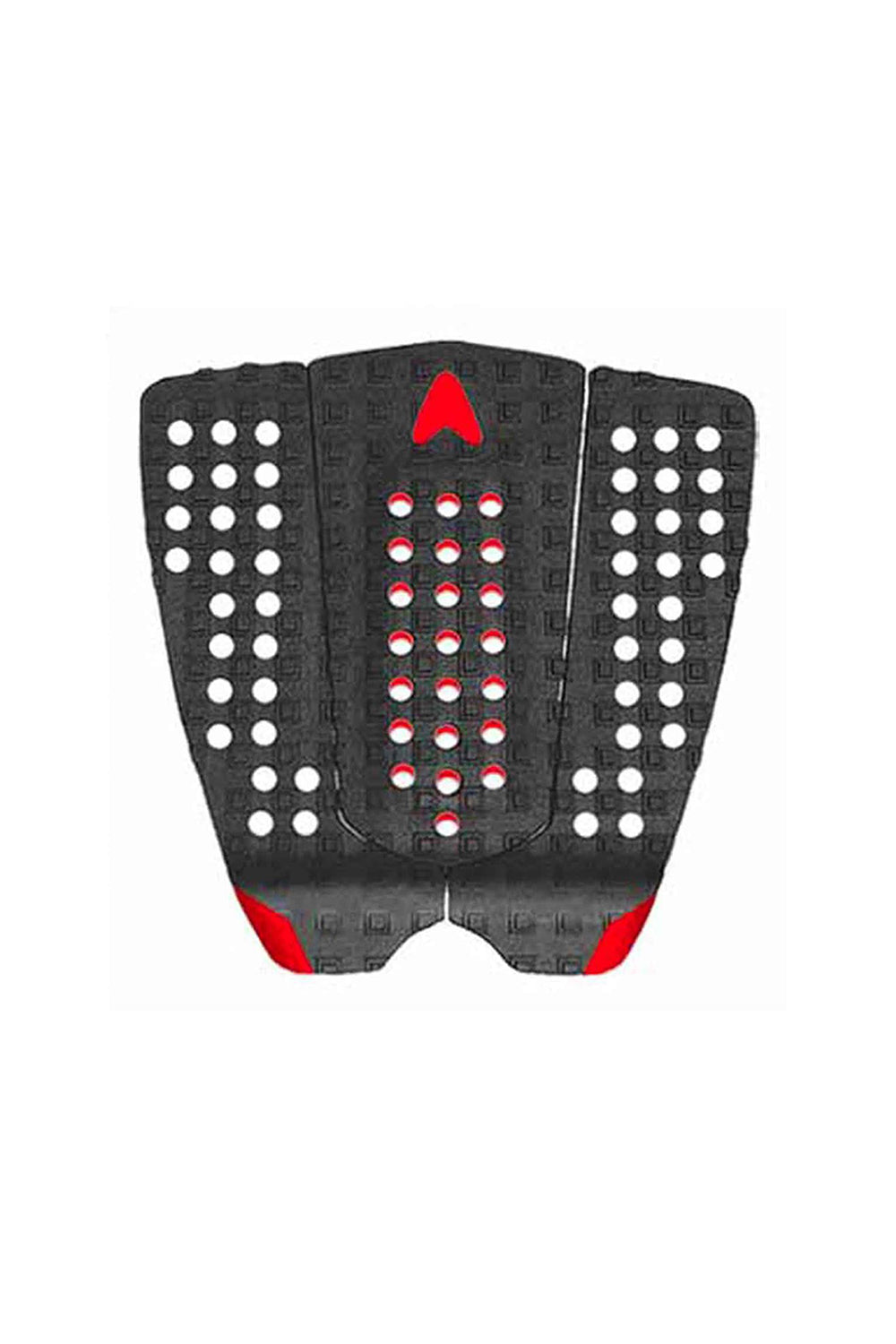 Astro Deck New Nathan - Black / Red Grip Pad Traction