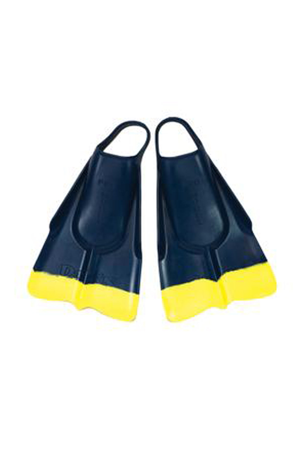 Da Fin Swimfins Flippers - Navy / Yellow