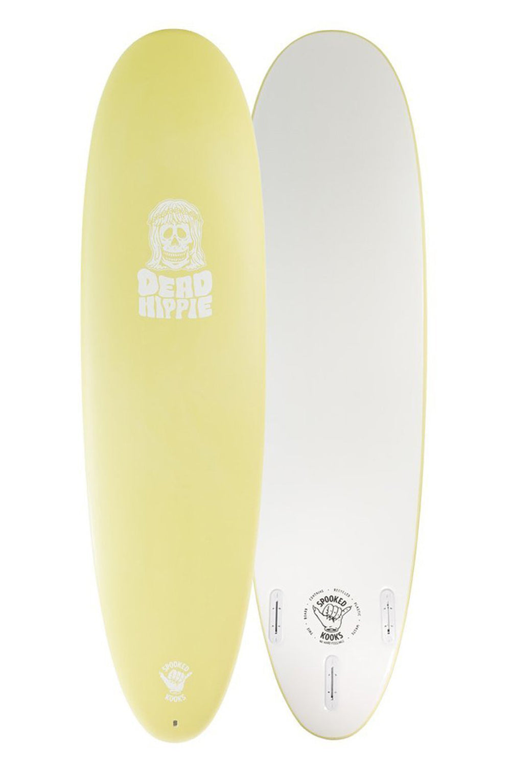Spooked Kooks Dead Hippie 7ft Softboard