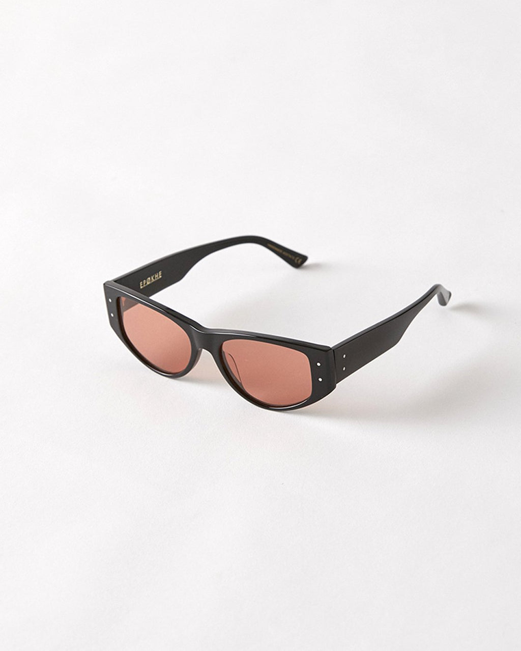 Epokhe ENO Sunglasses Black Polised/Amber