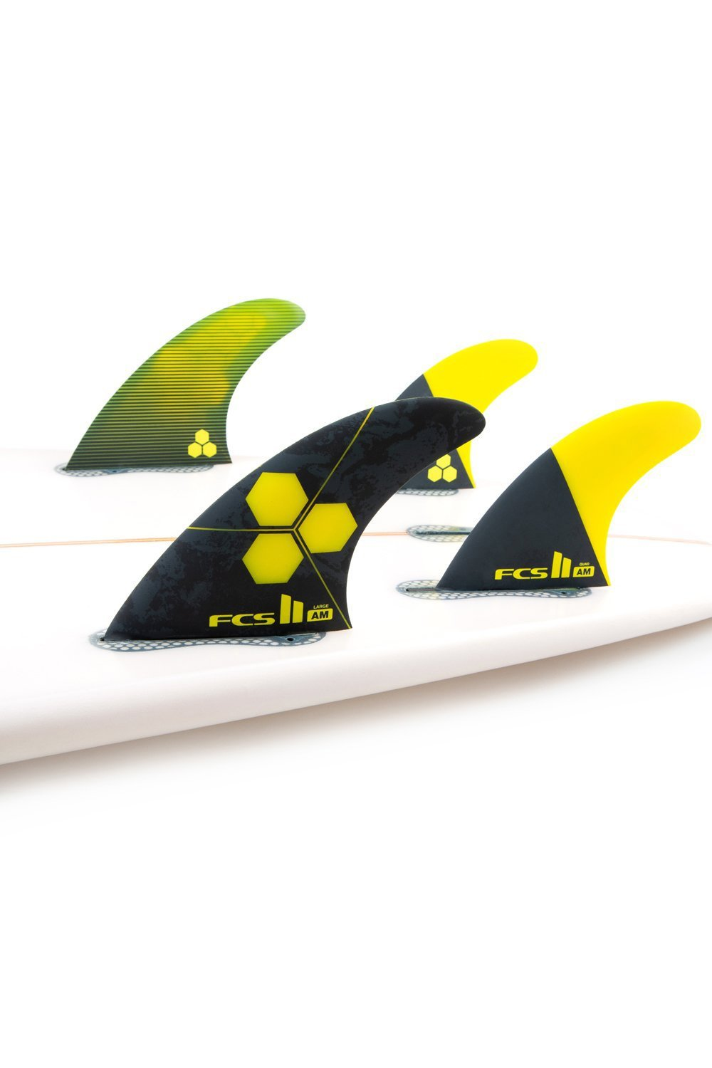 FCS 2 Al Merrick AM Tri Quad Fin Set